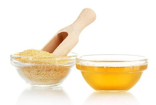 маска с желатином и медом