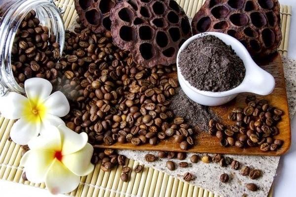 натуральный кофе для скраба